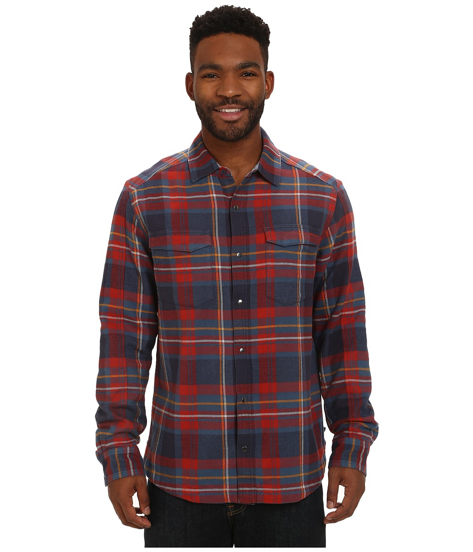 Toad&Co - Mojac Overshirt (Moonlit Lake) Men's Long Sleeve Button Up