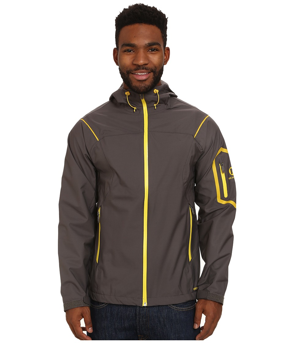 Merrell - Capra Shell (Shadow/Sulphur) Men's Jacket