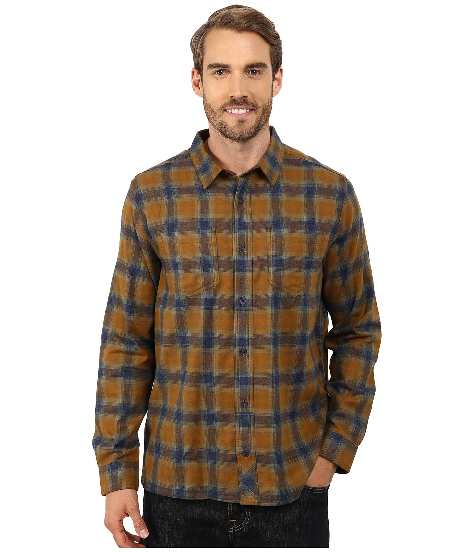 Toad&Co - Flannagan Straight Hem Long Sleeve Shirt (Maple) Men's Long Sleeve Button Up