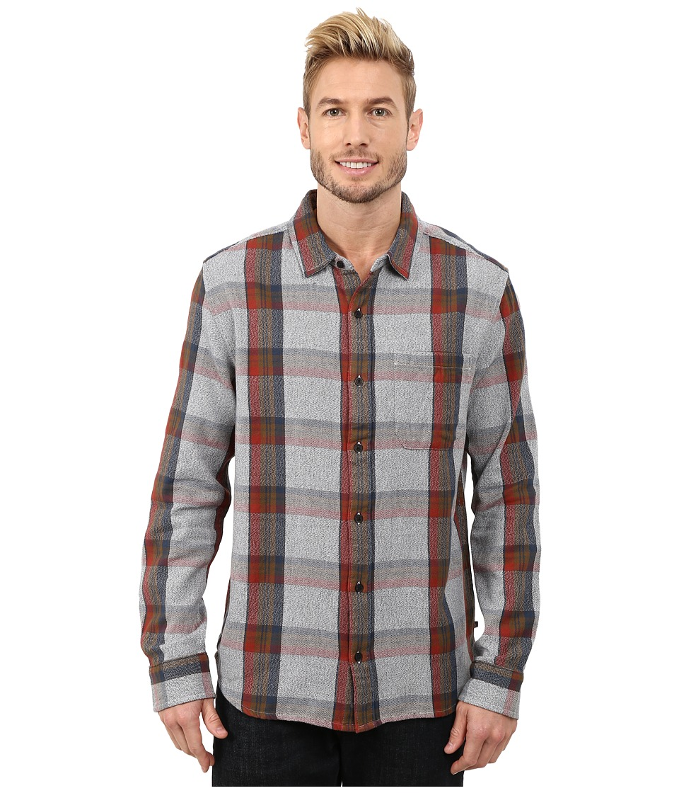 Toad&Co - Earle Long Sleeve Shirt (Jeep) Men's Long Sleeve Button Up