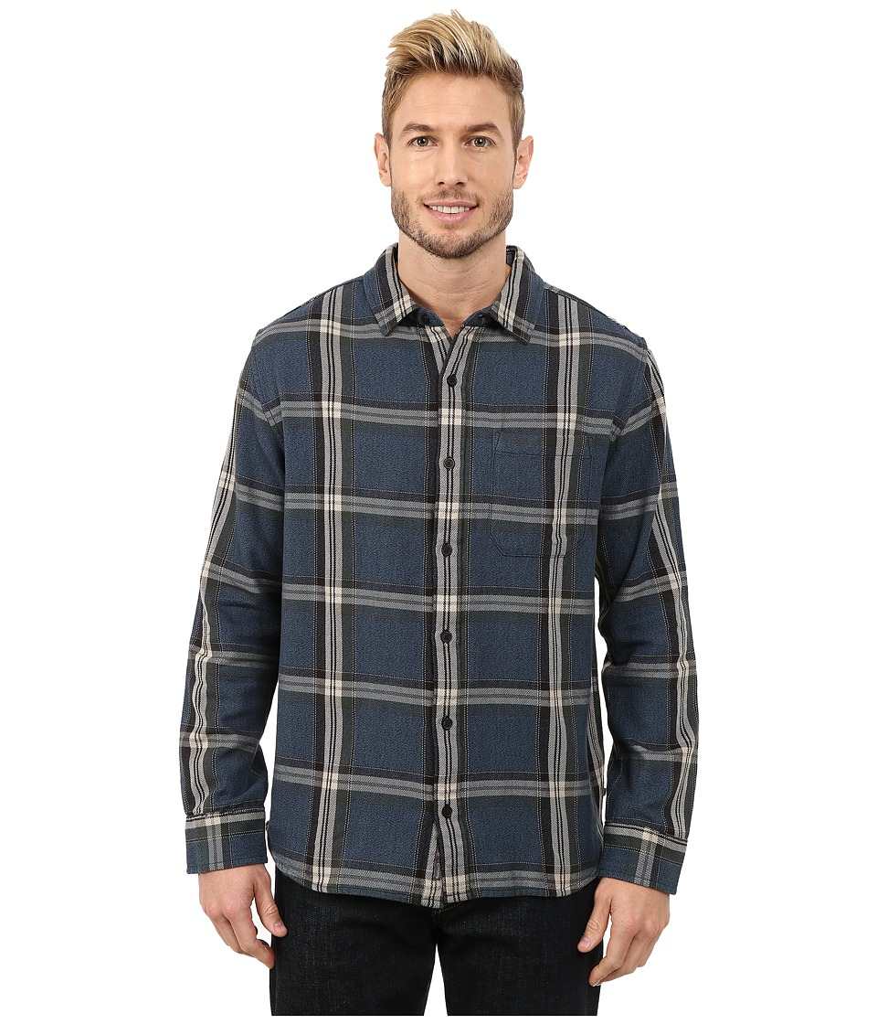 Toad&Co - Earle Long Sleeve Shirt (Moonlit Lake) Men's Long Sleeve Button Up