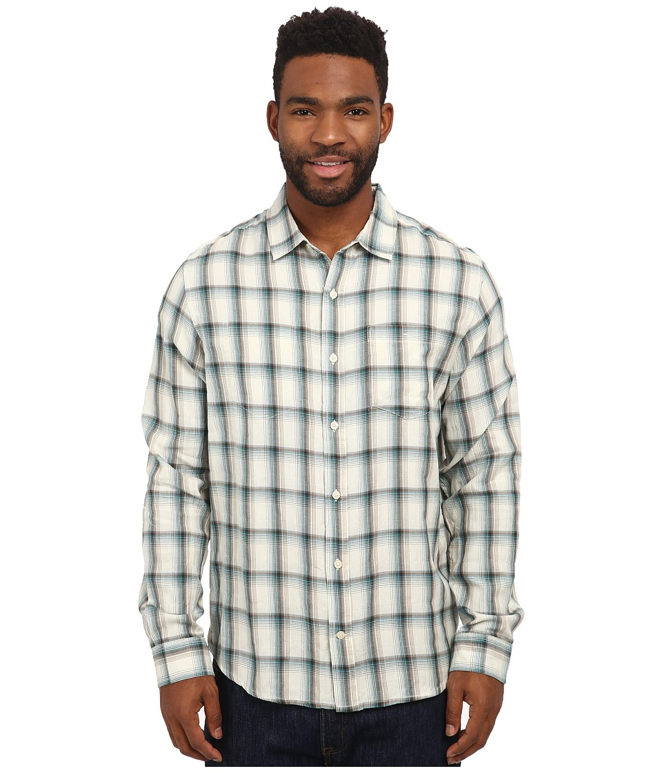 Toad&Co - Mixologist Long Sleeve Shirt (Blue Spruce) Men's Long Sleeve Button Up