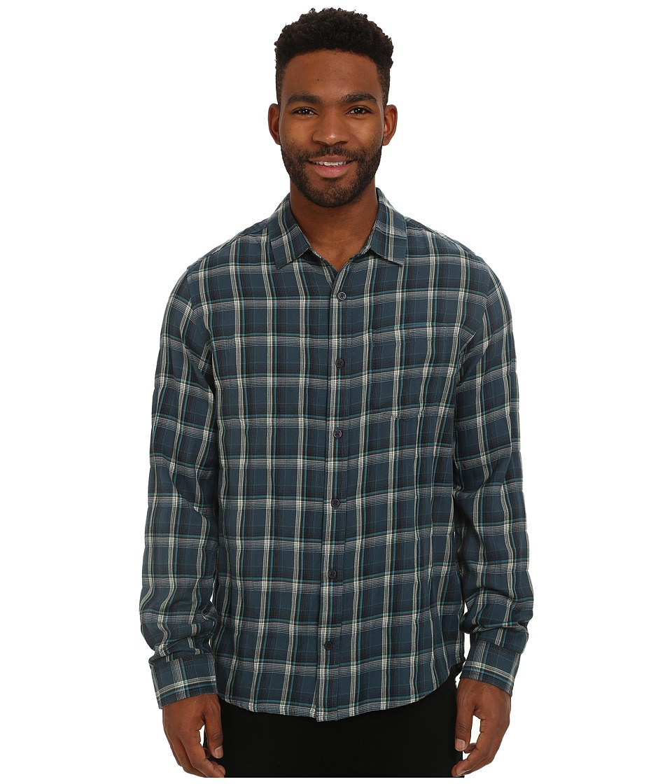 Toad&Co - Mixologist Long Sleeve Shirt (Night Sky) Men's Long Sleeve Button Up