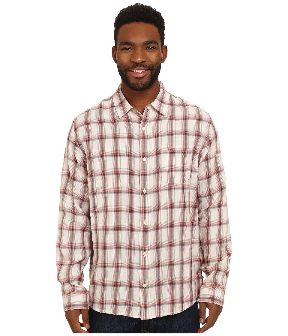 Toad&Co - Mixologist Long Sleeve Shirt (Ember) Men's Long Sleeve Button Up