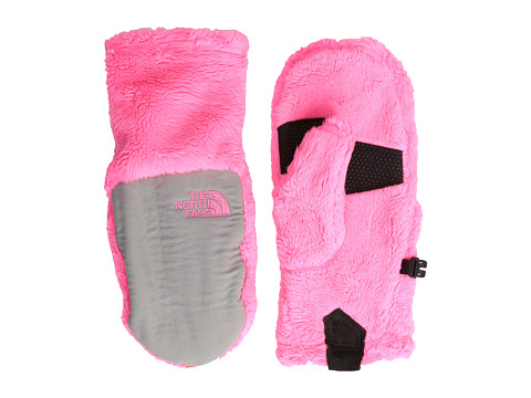 The North Face Kids - Denali Thermal Mitt (Big Kids) (Gem Pink/Metallic Silver) Extreme Cold Weather Gloves