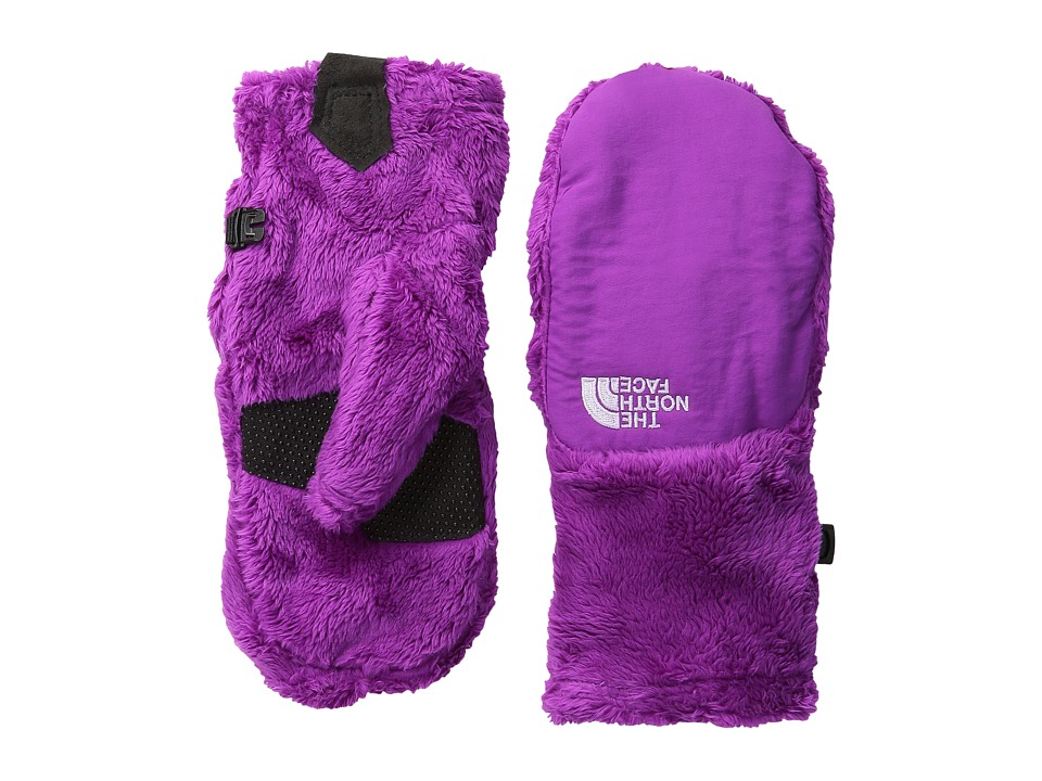 The North Face Kids - Denali Thermal Mitt (Big Kids) (Magic Magenta) Extreme Cold Weather Gloves
