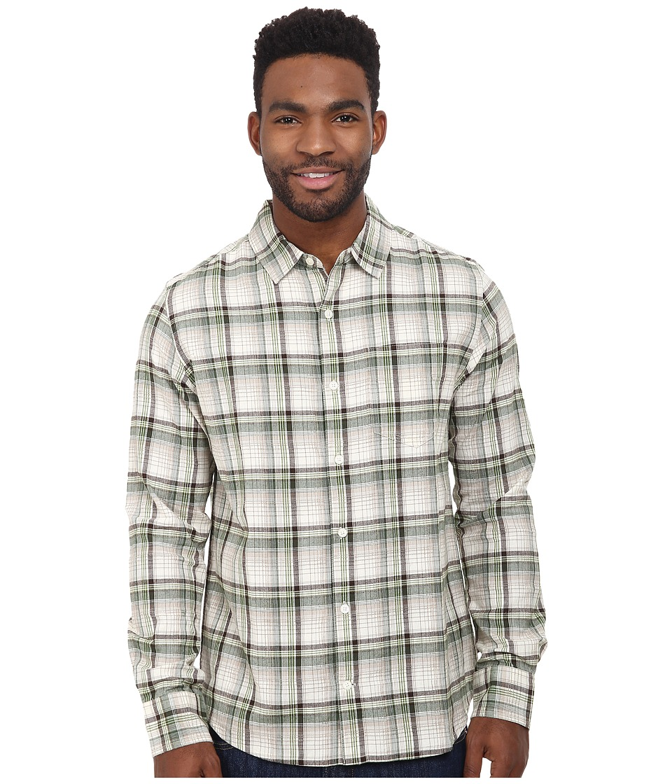Toad&Co - Open Air Cotton Long Sleeve Shirt (Pinon Pine) Men's Long Sleeve Button Up