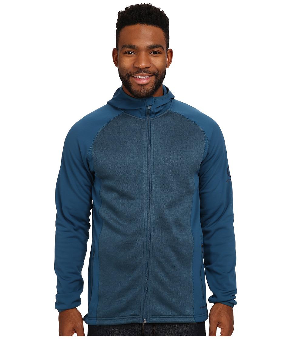 Merrell - Alpino Hoodie (Legion Blue/Legion Blue) Men's Sweatshirt