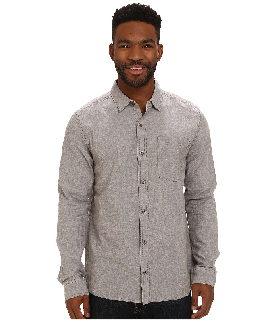 Toad&Co - Steward Long Sleeve Shirt (Jeep) Men's Long Sleeve Button Up