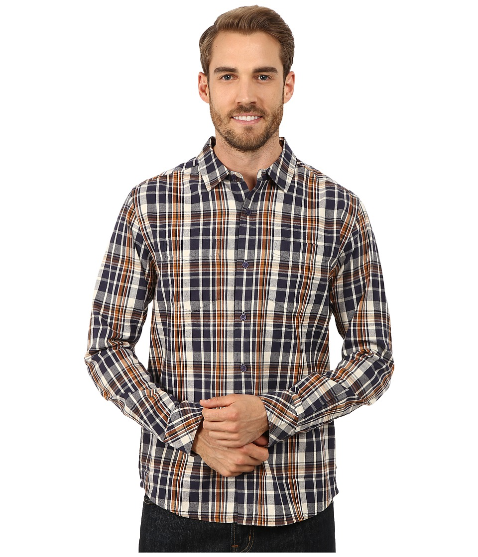 Toad&Co - Mojo Long Sleeve Shirt (Night Sky) Men's Long Sleeve Button Up