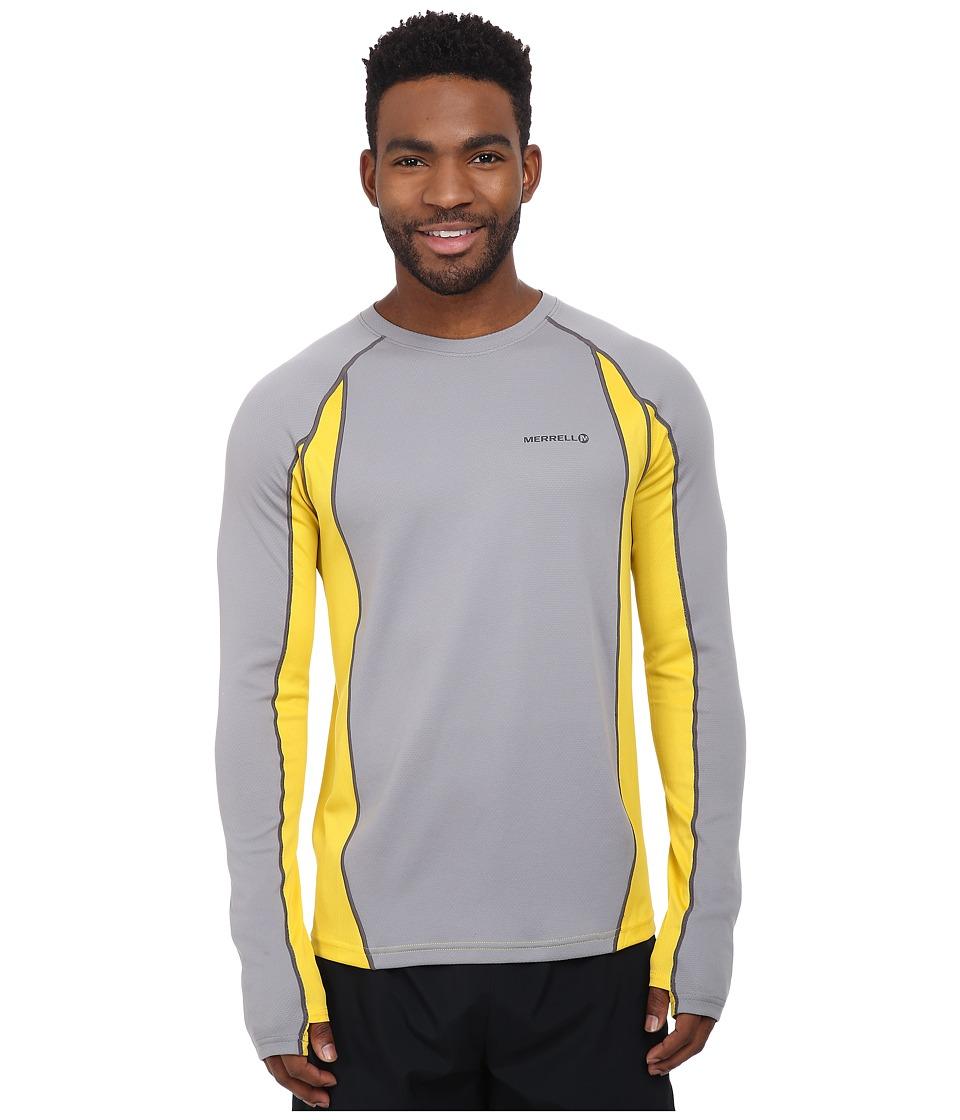Merrell - Fuse L/S Tee (Sidewalk) Men's T Shirt