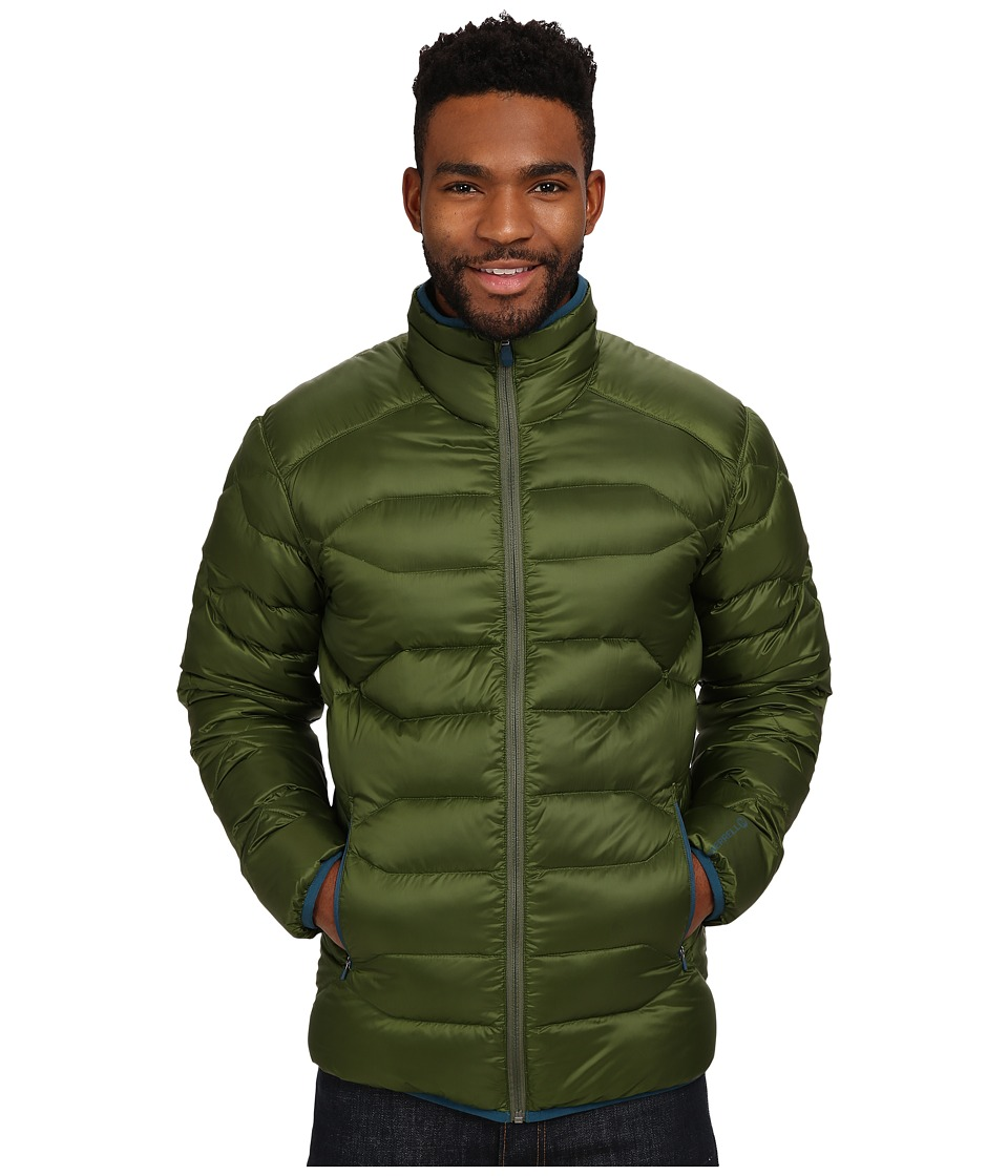 Merrell - Wildgarst Down Puffer (Chive) Men's Coat