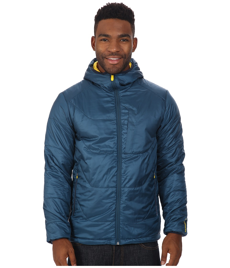 Merrell - Hexcentric Hooded Puffer (Legion Blue) Men