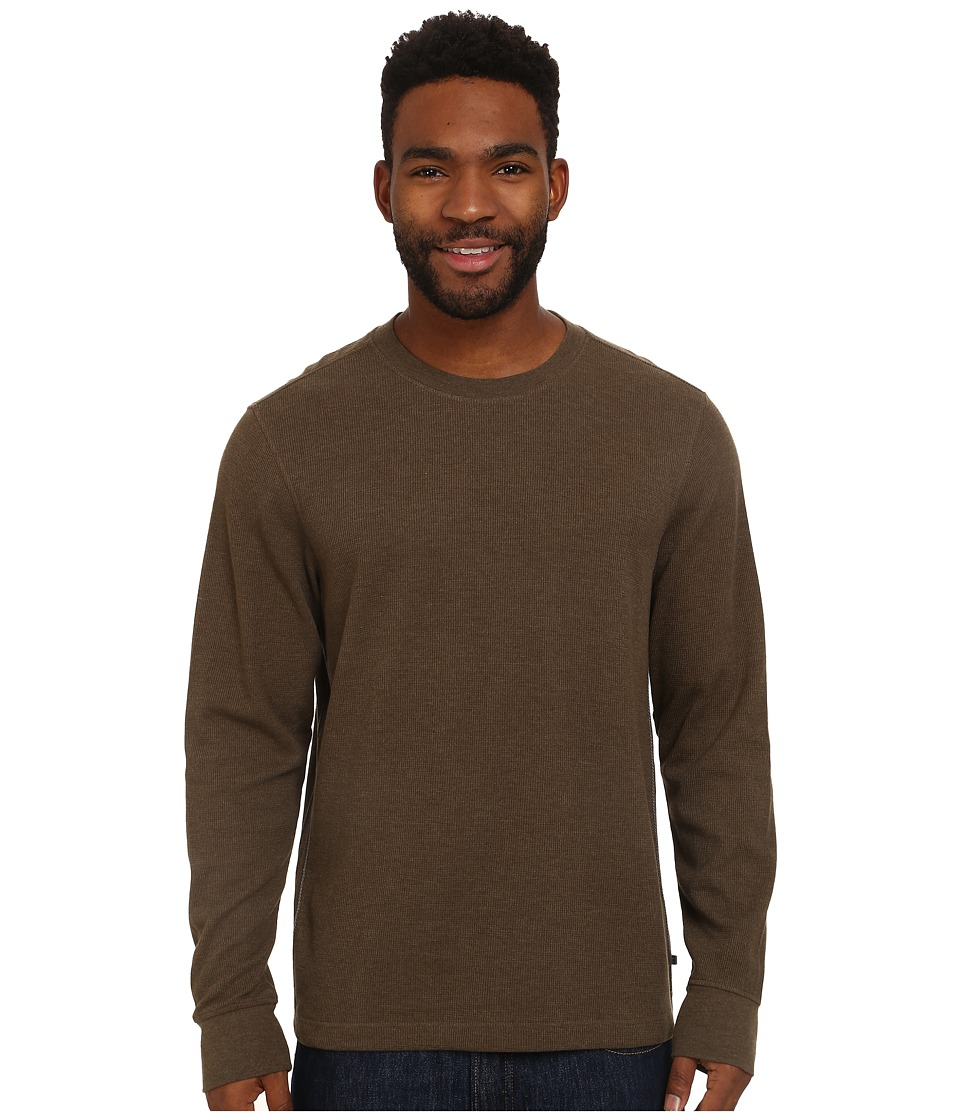 Toad&Co - Framer Long Sleeve Crew (Jeep) Men's Long Sleeve Pullover