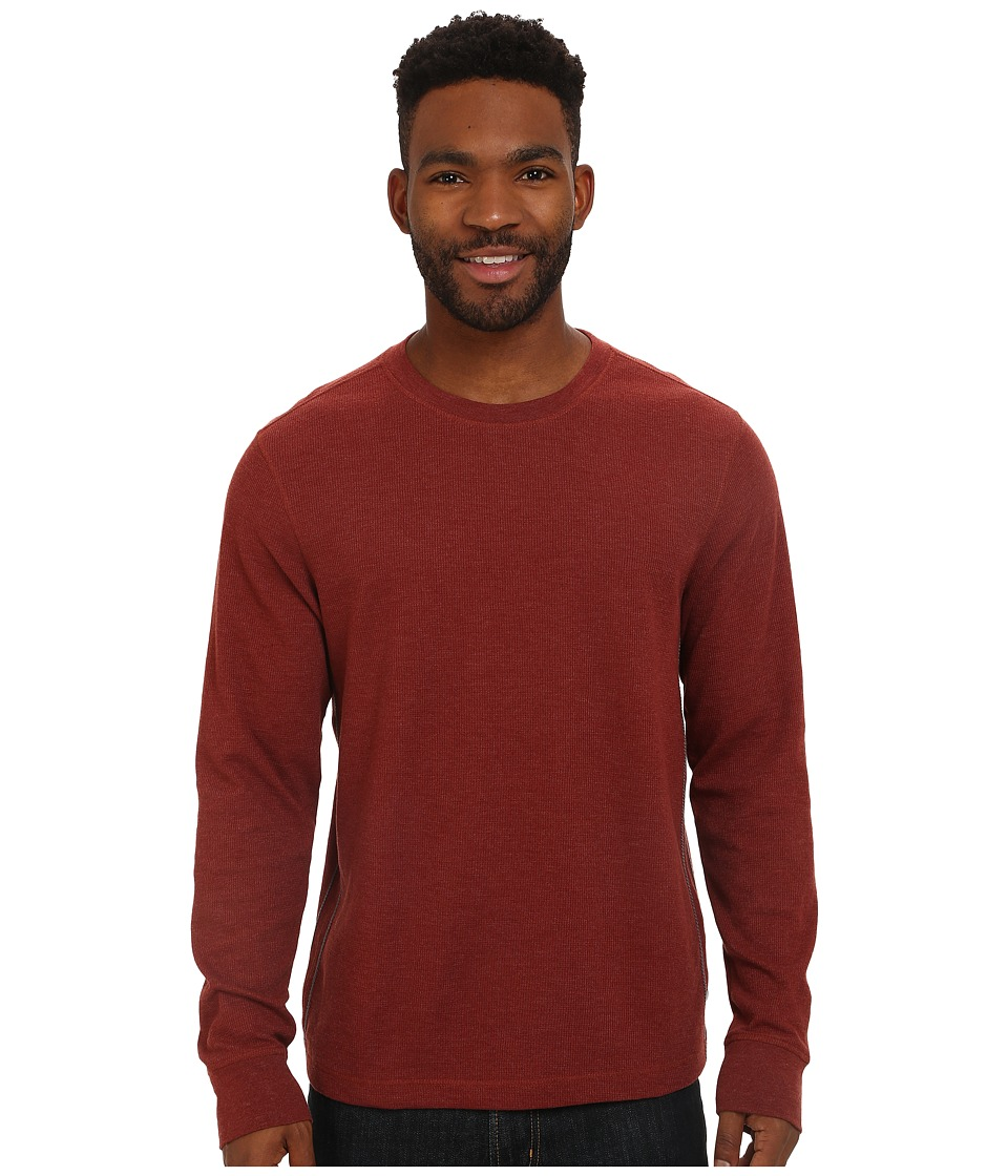 Toad&Co - Framer Long Sleeve Crew (Brown Madder) Men's Long Sleeve Pullover