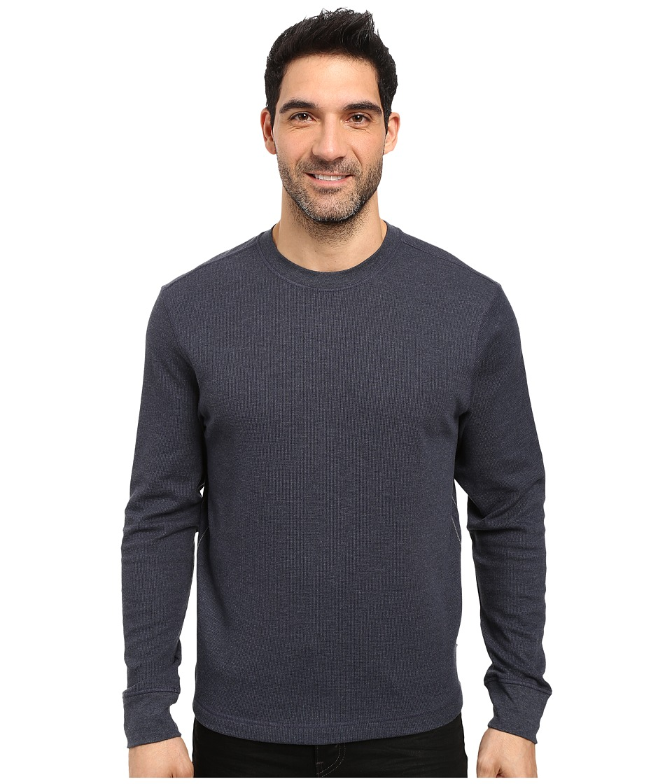 Toad&Co - Framer Long Sleeve Crew (Night Sky) Men's Long Sleeve Pullover