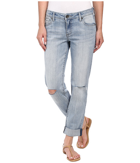 KUT from the Kloth - Catherine Boyfriend Five-Pocket (Heal/New Vintage Base Wash) Women