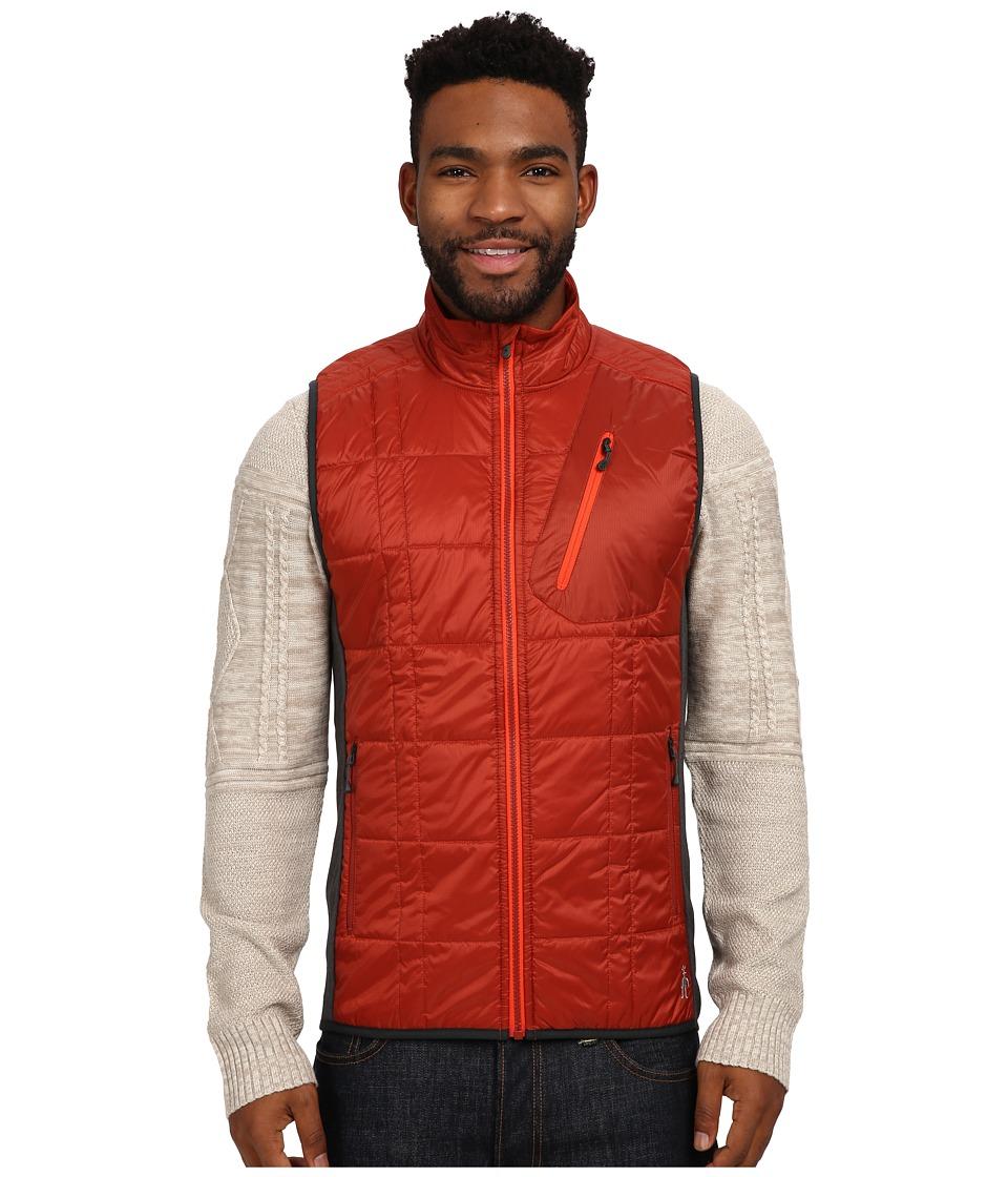 Smartwool - Corbet 120 Vest (Moab Rust) Men's Vest