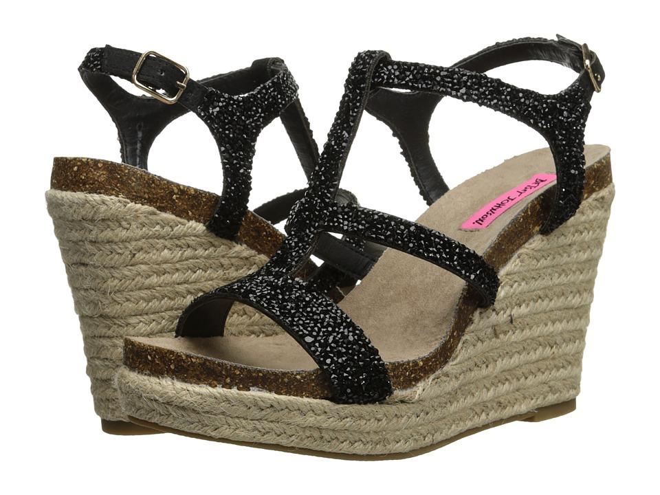 Betsey Johnson - Skylir (Black) Women's Wedge Shoes