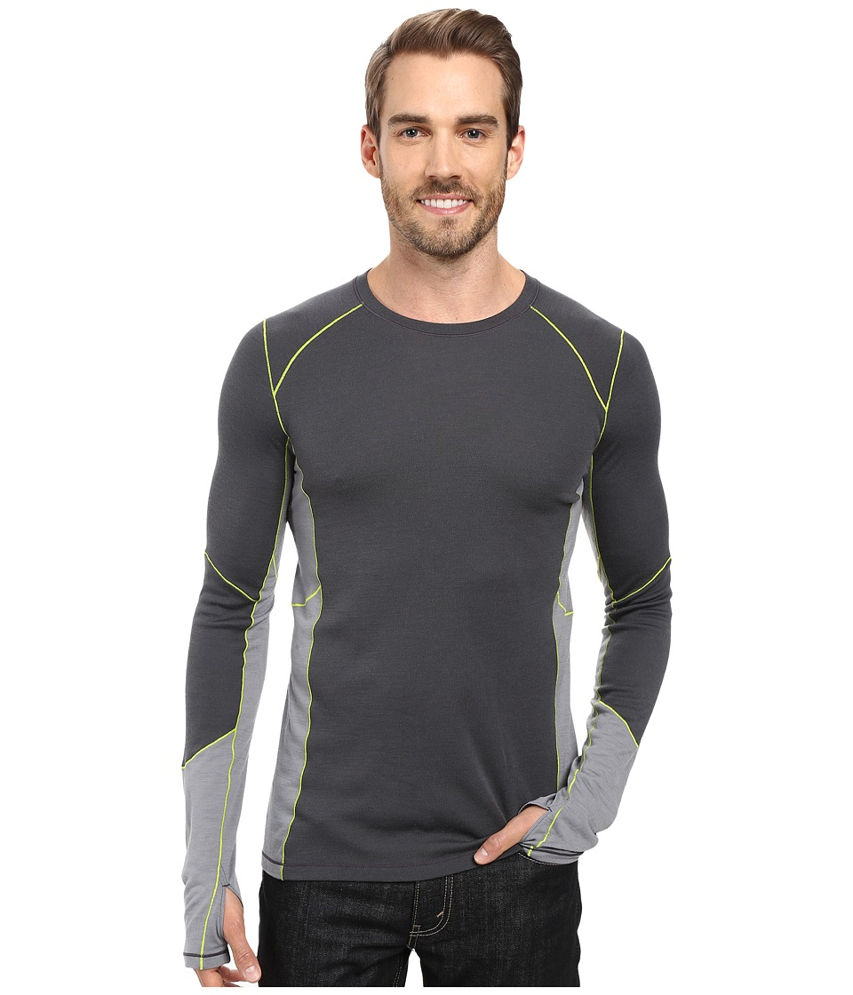 Smartwool - PhD(r) Light Long Sleeve Shirt (Graphite) Men's Long Sleeve Pullover