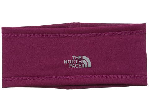 The North Face - Ascent Earband (Dramatic Plum) Knit Hats