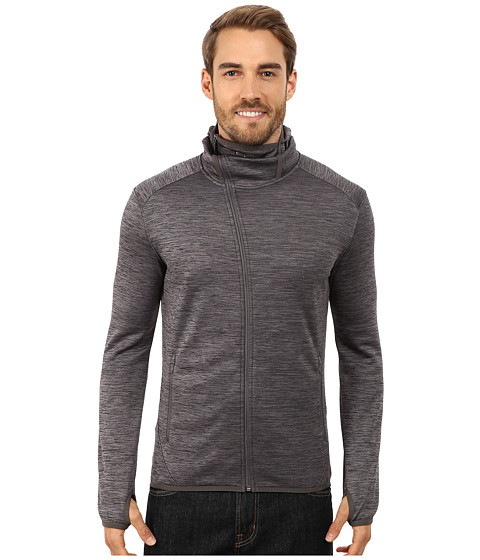 Merrell - Fraxion Balaclava Hoodie (Shadow Heather) Men's Coat
