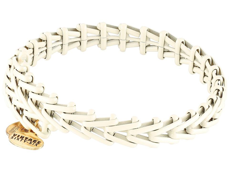 Alex and Ani - Gypsy 66 Wrap Bracelet (Lace Rafaelian Gold Finish) Bracelet