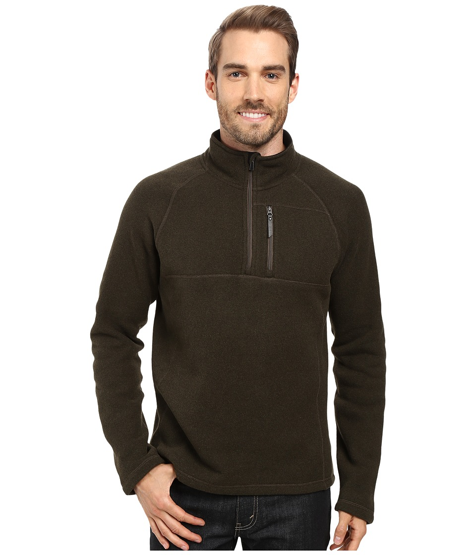 Smartwool - Echo Lake Half Zip Top (Loden Heather) Men's Fleece