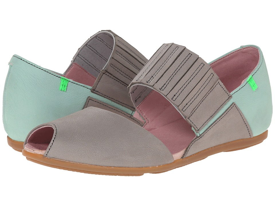 El Naturalista Stella N030 (Grey/Mint) Women