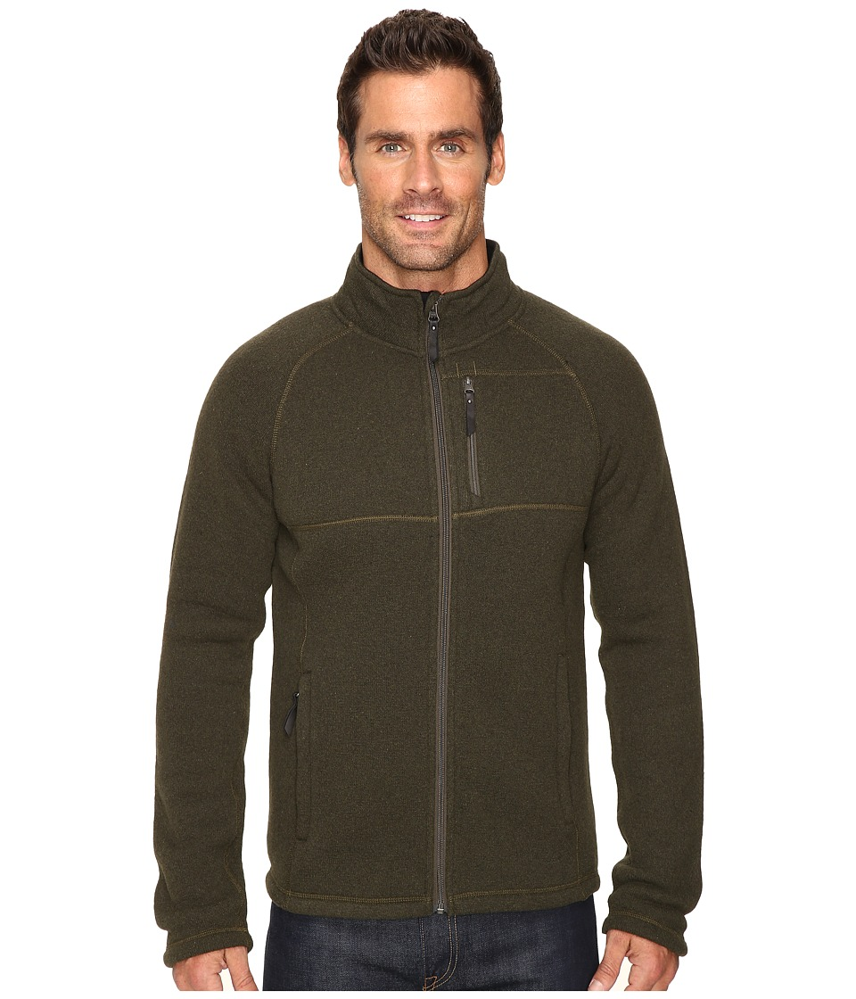 Smartwool - Echo Lake Full Zip Top (Loden Heather) Men's Fleece