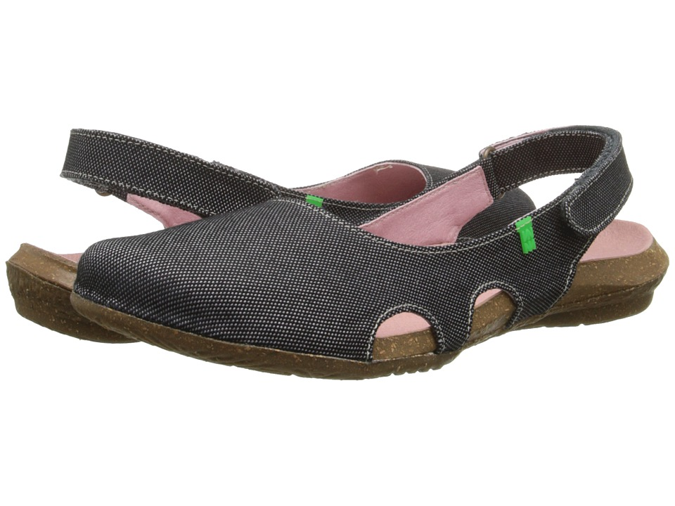 El Naturalista - Wakataua N415 (Black) Women's Shoes