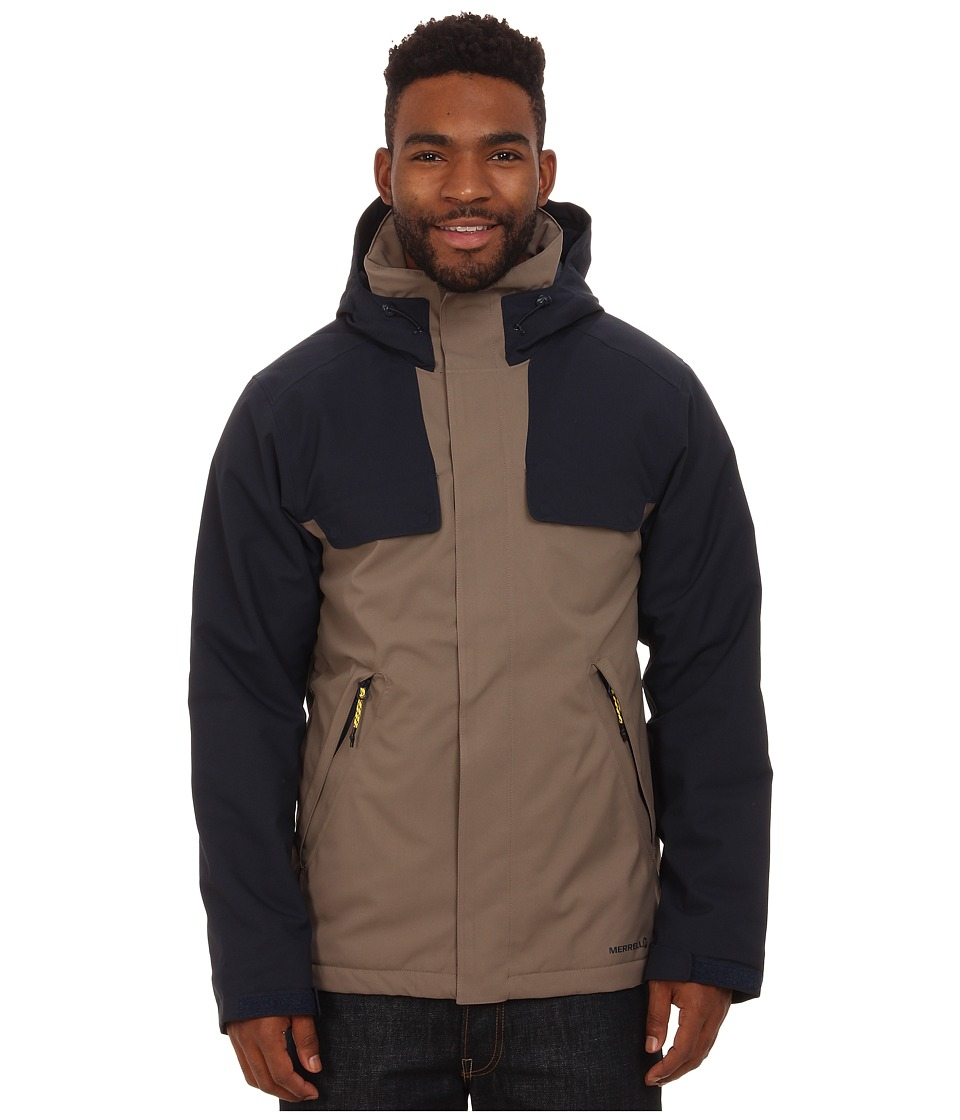 Merrell - Summit Spark Insulated Jacket (Cappuccino) Men's Coat