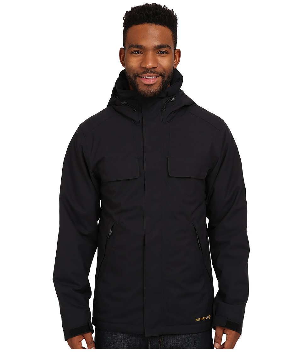 Merrell - Summit Spark Insulated Jacket (Black) Men's Coat
