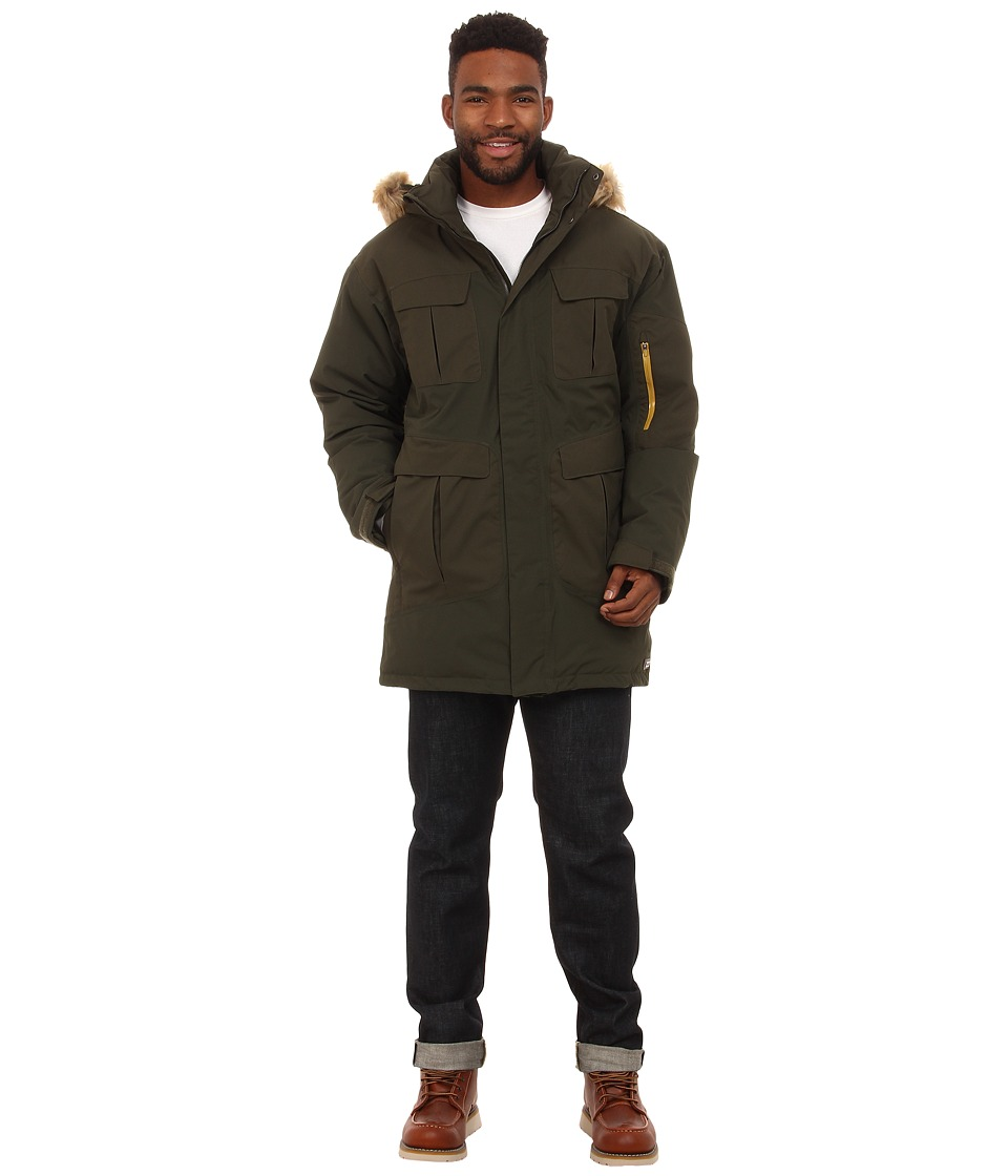Merrell - Caribon Down Parka (Deep Olive) Men's Coat