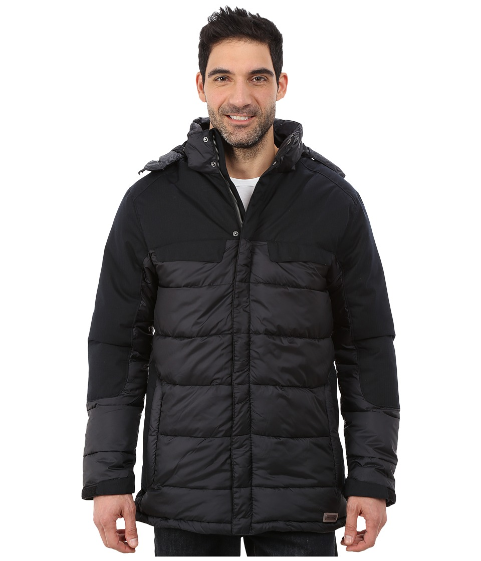 Merrell - City Puffer Jacket (Black) Men's Coat