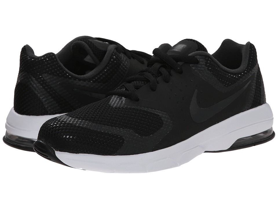 Nike Kids - Air Max Premiere Run (Little Kid) (Black/White/Anthracite) Boys Shoes