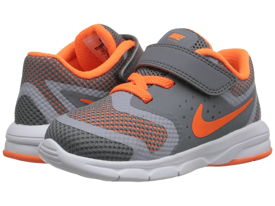 Nike Kids - Premiere Run (Infant/Toddler) (Cool Grey/Wolf Grey/Total Orange) Boys Shoes