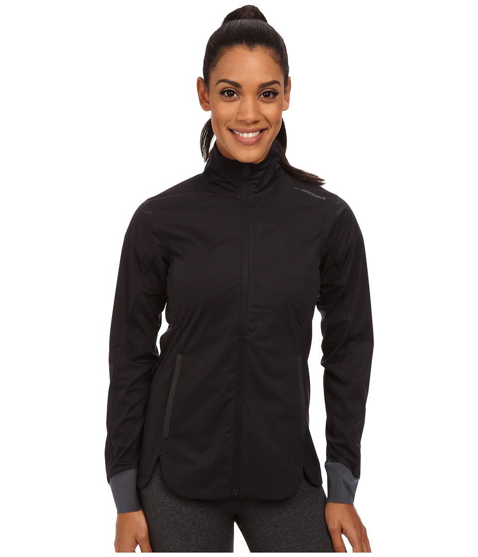 Brooks - Drift Shell (Black) Women's Coat