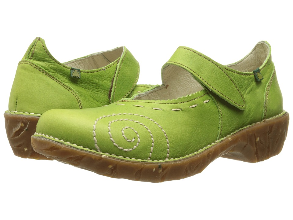 El Naturalista - Yggdrasil N095 (Green 2) Women's Maryjane Shoes