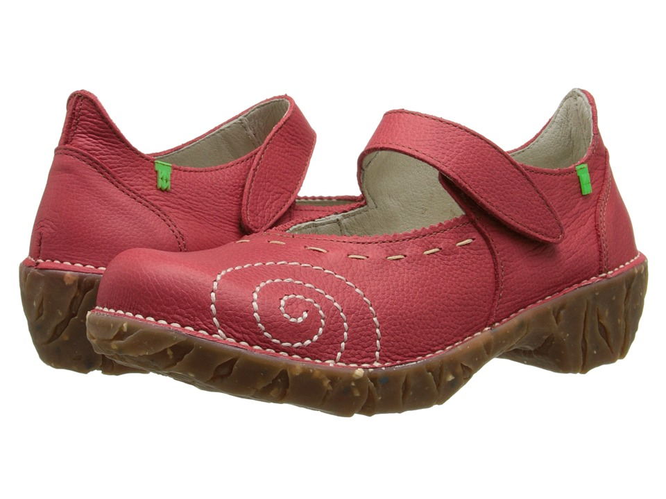 El Naturalista - Yggdrasil N095 (Grosella) Women's Maryjane Shoes