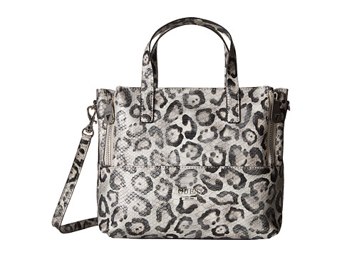 ... UPC 885935733434 product image for GUESS - Doheny Satchel (Snow  Leopard) Satchel Handbags  5371eb9fc23a4