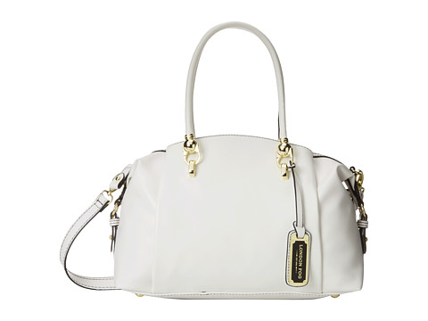 London Fog - Carson Satchel (White) Satchel Handbags