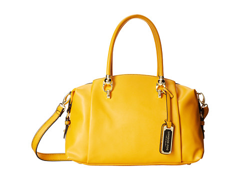 London Fog Carson Satchel (Yellow) Satchel Handbags