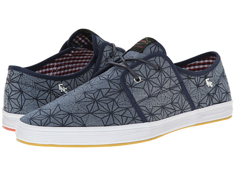Base London - Spam 2 (Geo Denim) Men's Shoes