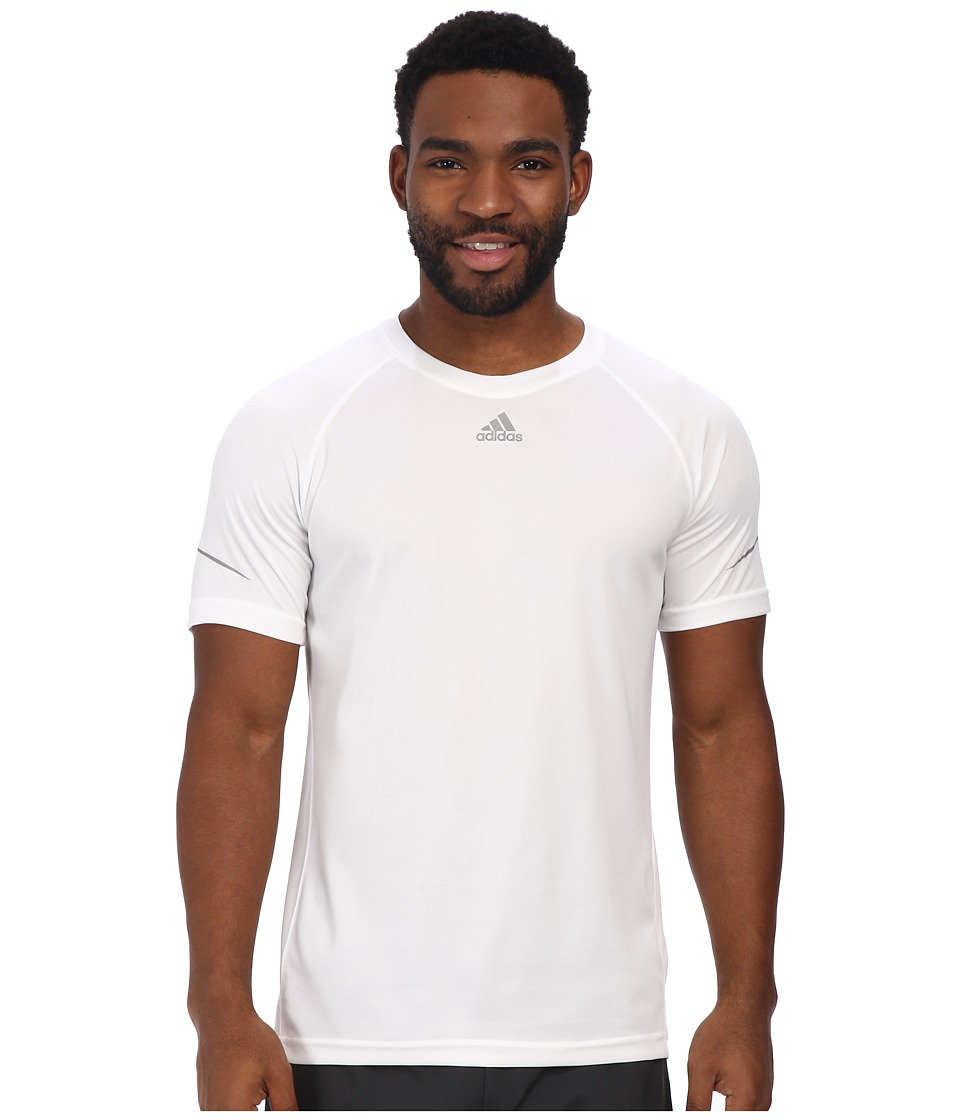 adidas - Sequencials climacool Money Tee (White) Men's Workout
