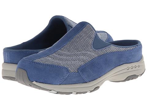 Easy Spirit - Traveltime (Medium Blue/Blue Suede) Women's Clog Shoes