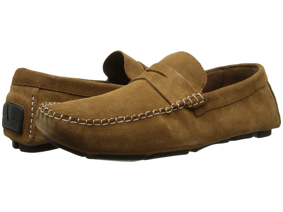 Dune London - Bumper (Tan Suede) Men's Slip on Shoes