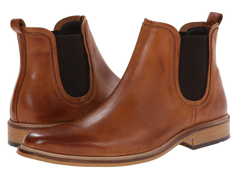 Dune London - Manderin (Tan Leather) Men's Pull-on Boots