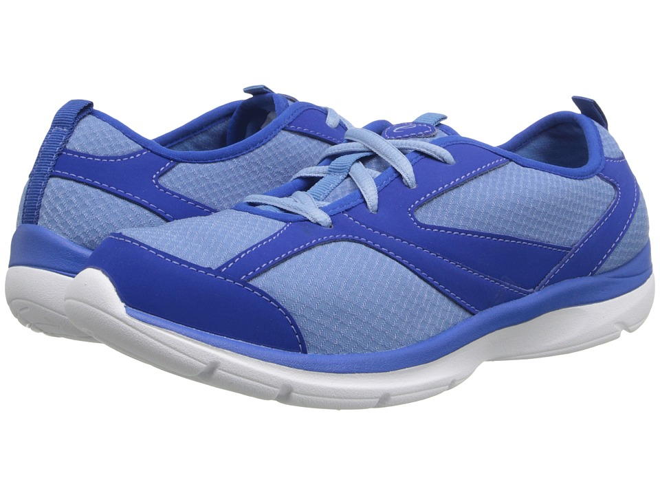 Easy Spirit - Quatro (Medium Blue/Dark Blue Fabric) Women's Shoes