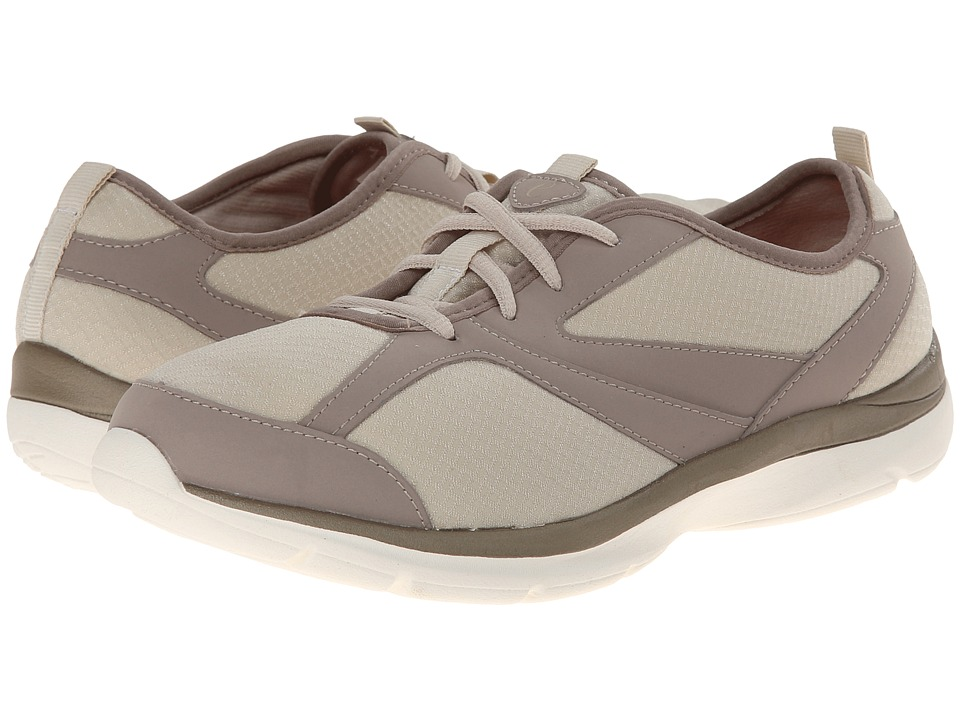 Easy Spirit - Quatro (Light Natural/Light Taupe Fabric) Women's Shoes